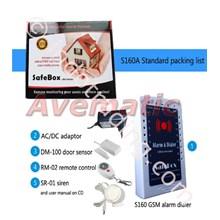 Paket Gsm Alarm Wiring Dan Wireless Ekonomical S160