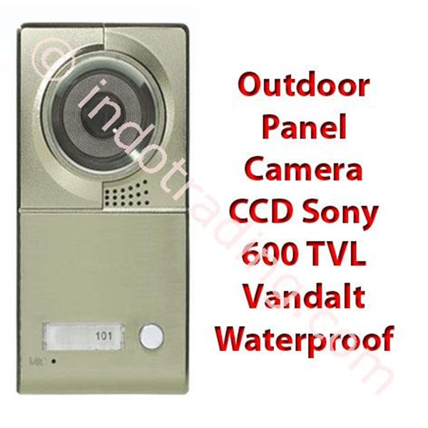 "Video Door Phone Layar 7"" Handfree Dan Touch Screen Dgn Camera Ccd Sony 700 Tvl"