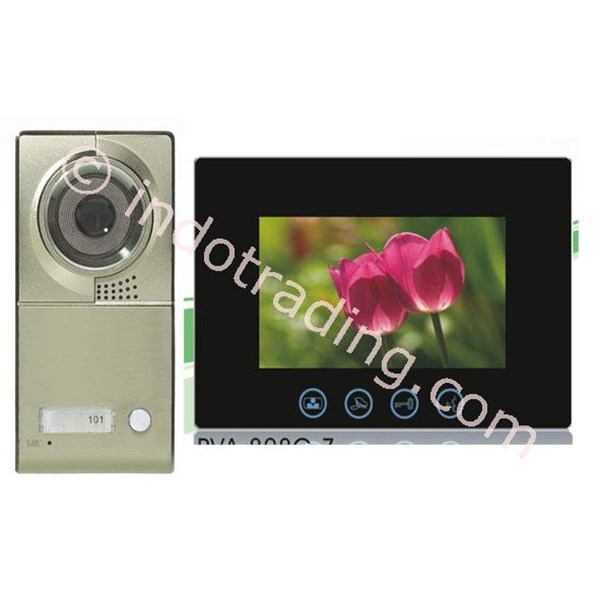 "Video Door Phone Layar 10"" Touch Screen Handsfree Dgn Camera Ccd Sony 700Tvl"