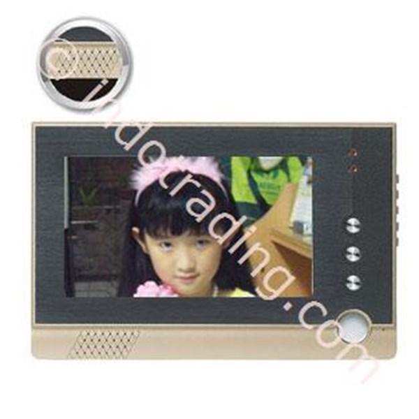 """Video Door Phone Layar 7"""" Rekam Gambar Camera Ccd Sony 600Tvl"""