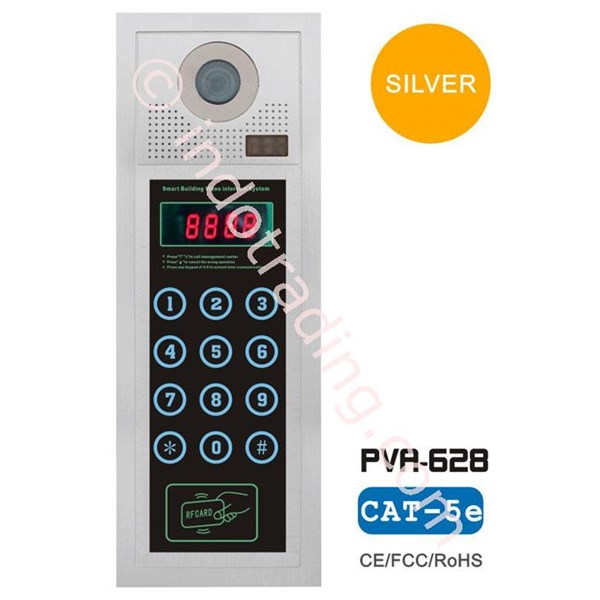 "Video Door Phone Apartemen Dengan Layar 7"" Camera Ccd Sony 600Tvl"