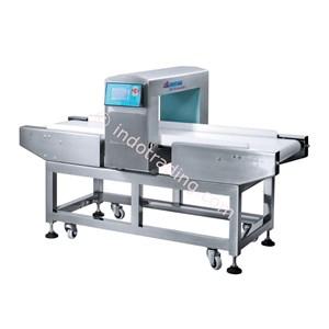 Conveyor Pendeteksi Metal Produk Makanan  Pakaian