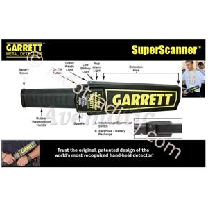 Metal Detector Pegang Tangan Superscanner 1165180