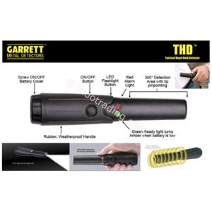 Garrett Thd Tactical Metal Detector 1165900