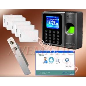 Paket Fingerprint Dgn Sidik Jari dan Kart dan Pin dari David Link