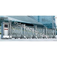 Retractable Stainless Steel Gate Electric Folding Gate Vs-01