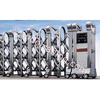 Stainless Steel Retractable Electronic Folding Gate Cs-11