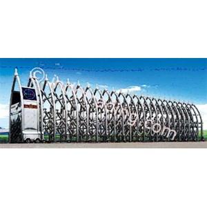 Dari Stainless Steel Retractable Electronic Folding Gate Kupai 0