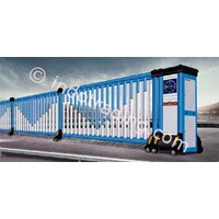 Aluminium Retractable Electric Folding Gate X5-1C