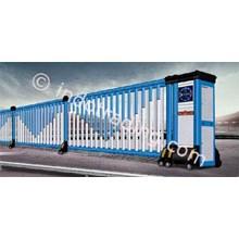 Aluminium Retractable Electric Folding Gate X5-1C