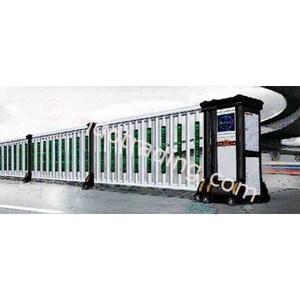 Dari Aluminium Retractable Electric Folding Gate X5-1C 1