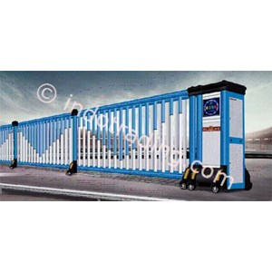 Dari Aluminium Retractable Electric Folding Gate X5-1C 0