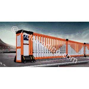 Dari Aluminium Retractable Electric Folding Gate X5-1C 2