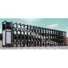 Aluminium Retractable Electronic Folding Gate H5-4B