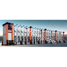 Aluminium Retractable Electronid Folding Gate X6-1