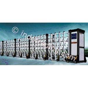 Dari Aluminium Retractable Electronid Folding Gate X6-1 2