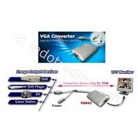Jual Converter Display Dari Video Ke Vga Card