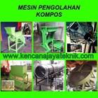 Mesin Pengolahan Kompos  - Pencacah&Pengayak Kompos - Mesin Pertanian 1