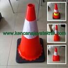 Kerucut Lalu Lintas - Traffic Rubber Cone - Keamanan Jalan Kendaraan 2