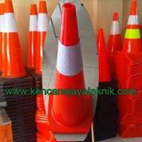 Kerucut Lalu Lintas - Traffic Rubber Cone - Keamanan Jalan Kendaraan 1