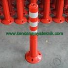 Rubber Stick Cone - Delineator Pembatas Parkir - Keamanan Jalan Kendaraan 2