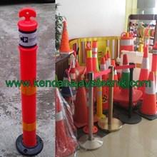 Rubber Stick Cone - Delineator Pembatas Parkir - K
