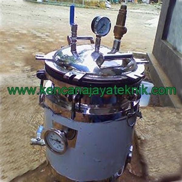 Mesin Autoclave Sterilisasi Bibit Jamur-Mesin Sterilisasi Makanan