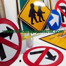 Rambu Petunjuk Keamanan Jalan Kendaraan - Rambu Lalu Lintas - Rambu Parking - Rambu Perboden