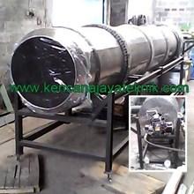 Mesin Pengering Granul Pupuk Kompos Sistem Rotary