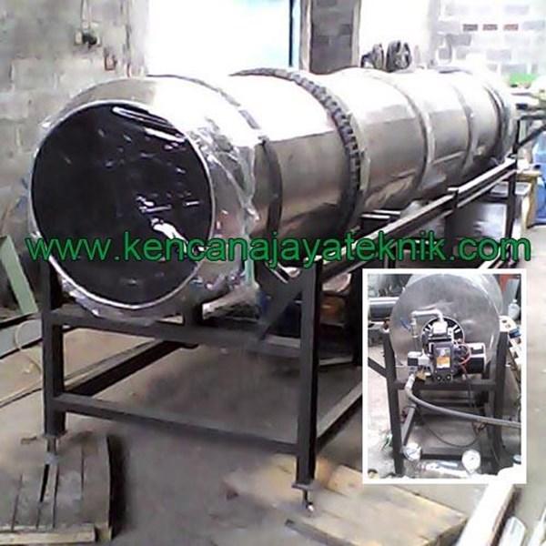 Mesin Pengering Granul Pupuk Kompos Sistem Rotary Dryer-Mesin Pertanian