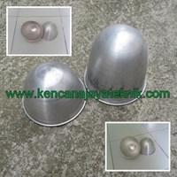 Mangkok Sadap Getah Karet Aluminium - Mangkok Penampung Lateks Aluminium - Peralatan Perkebunan