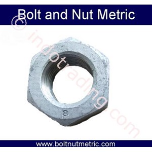Hot Dip Galvanizing Hex Nut (Mur)