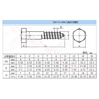 Jual Hex Wood Screw(Sekrup Kayu Hex) 2