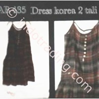 Jual Gaun Fashion Korea 2 Tali Ab 435