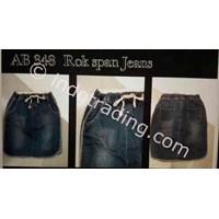 Jual Rok Span Jeans Korea Ab 348