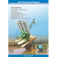 Alat Tanam Padi Manual - Manual Rice Transplanter