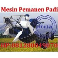 Mesin Pemanen Padi Combine Harvester