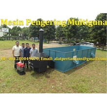 Mesin Pengering Gabah Box Dryer