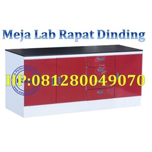 Wall Bench Polos Type I (Type i)Meja Lab Rapat Dinding