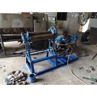 Mesin Hand Mangel Batik Bermotor