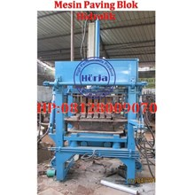 MESIN BATAKO PAVING BLOK HIDROLIK SEMI MANUAL