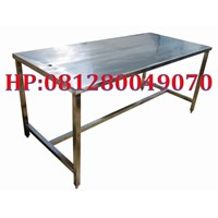 Work Table Table Chicken Slaughterhouse Process Workbench Stainless