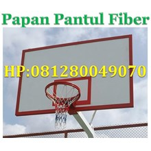 Reflective Fiber Boards Basketball Hoop