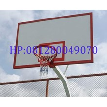 Reflective Fiber Board Cheap Basketball Hoop