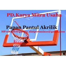 Reflective Acrylic Boards Temurah Basketball Hoop