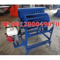 Mesin Perontok Padi Pedal Thresher Bermotor