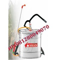 Hand Sprayer Pump Stainless Back