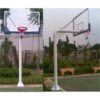 Basketball Hoop Pole Planting Cheap