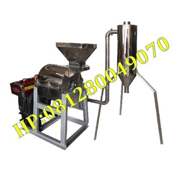 Mesin Hammer Mill Stainless Steel With Cyclone