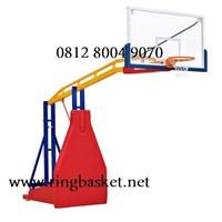 Ring Basket Portabel Hidrolik Manual (Bisa Naik Turun Dengan Hidrolik Manual)